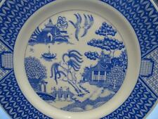 Unboxed Willow Pattern Transfer Ware Pottery Platters