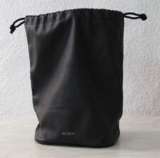 Sony Leder Objektivköcher Kameratasche Tasche Köcher ca.17x13x27, sehr groß