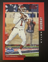 2019 Score Draft RED Kyler Murray Rookie RC Parallel Card #DFT-9 SP Cardinals