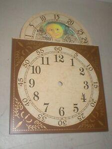 NOS Vintage 1998 Ridgeway Grandfather Clock Dial Face
