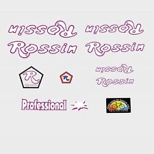 TELAIO BICICLETTA PROFESSIONALE Rossin Adesivi-Decalcomanie-n.910