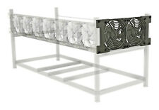 Mining Rig Side Fan Expansion for Aluminum Veddha-Style Frame 140mm Kit + 2 Fans
