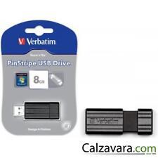 Verbatim pen drive usb 2.0 Dongle Pinstripe - 8gb