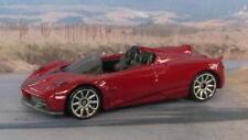 2017 PAGANI HUAYRA ROADSTER 1:64 (Dark Red) Hot Wheels Diecast Car