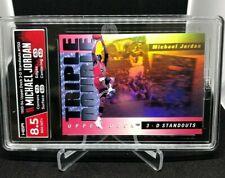 1993 Upper Deck 3D Triple Double Hologram Michael Jordan #TD2 HGA 8.5 NM-MINT+