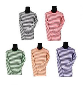 Ringelshirt Ringelpulli Ringel T-Shirt Streifen Pulli gestreift Regenbogen lang