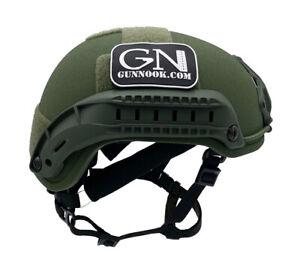 GunNook-200-S Ballistic Helmet, HIGH CUT/MICH 2001 - USA