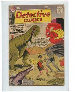 Detective Comics #255 (1958) Batman Dinosaur Cover VG