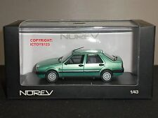 NOREV 771052 FIAT CROMA GREEN DIECAST MODEL CAR