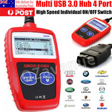 Car Fault Code Reader Engine Scanner Diagnostic Reset Tool OBD 2 EOBD CAN BUS AU