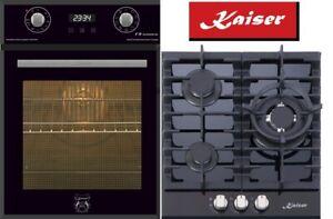 Luxus Herdset Autark Kaiser Elektrobackofen + Top Gaskochfeld KCG 4384 Angebot