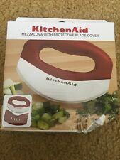 KitchenAid Mezzaluna with Protective Blade Cover Red New Read*****