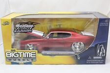 JADA BIGTIME MUSCLE 1971 CHEVROLET CHEVELLE RED 1/24 NEW IN BOX VERY RARE