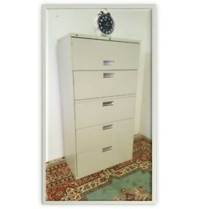 HON LATERAL FILE CABINET 5 DRAWER