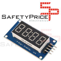 Modulo Display Digital TM1637 4 dígitos LED reloj Arduino Raspberry Pi SP