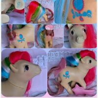 ❤️My Little Pony MLP G1 Vtg Brush 'n Grow Pretty Vision Long Hair Mirror❤️