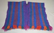 Manos Del Uruguay 100% Virgin Wool Poncho - Multi Color - Size S