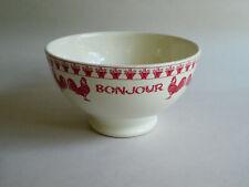 French Paris Je T'Aime - Bonjour Bowl - Red Rooster, 'BONJOUR', Flower Pots