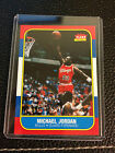 1996 97 MICHAEL JORDAN FLEER DECADE OF EXCELLENCE 1986 ROOKIE REPRINT CARD #4