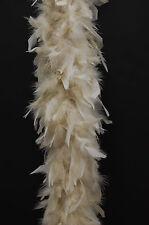 80 GRAMOS CHANDELLE Boa de plumas - BEIS 1.8m M Disfraz/ Halloween/ BOAS /