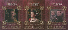 """The Tudors Series 1-3 - """"Henry's Legacy"""" Set of 3 Chase Cards #HL-1-3"""