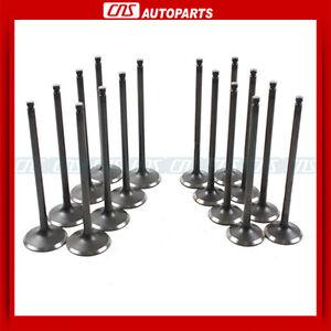 FITS 99-10 SUBARU 2.2L 2.5L SOHC EJ22E EJ25 INTAKE & EXHAUST ENGINE VALVES KIT