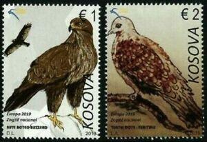 Kosovo Stamps 2019. Europa CEPT: National Birds. Set MNH