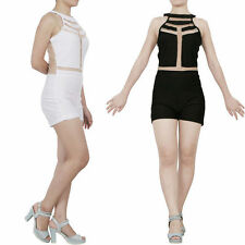Mesh Unbranded Regular Jumpsuits, Rompers & Playsuits for Women