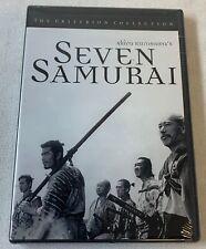 Sealed Criterion Collection Dvd ~ Akira Kurosawa Seven Samurai
