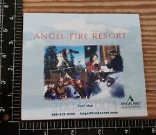 New listing Vintage 2002/03 Angel Fire Resort,New Mexico Ski Trail Map never used condition