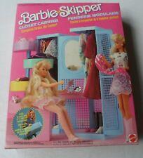 Barbie & Skipper Vintage Closet Carrier By Mattel in 1987 - NO doll - No fashion