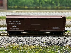 N Scale- MTL 43030 Union Pacific 1-1/2 Door Wood Sheathed Boxcar UP 170741 N3252
