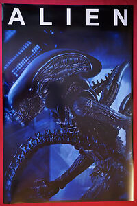 Alien Scary Monster Creature Sci-Fi Extra Terrestrial Movie Poster 24X36   ALI2