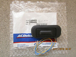 12-16 CADILLAC SRX 4D SUV TRUNK LID OPENER LIFTGATE RELEASE SWITCH OEM BRAND NEW