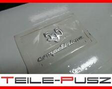 Original Fiat 500 Abarth 500 595 Competizione Emblem Logo NEU Badge