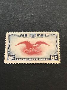 US Scott # C23 Eagle Dark Blue & Carmine  6¢ MVLH ***FREE SHIP***