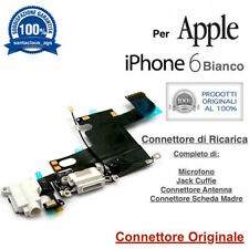 6002d0bb3e8 Connettore Ricarica Dock Microfono Antenna Apple iPhone 6 Bianco