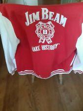 Jim Beam varsity jacket mens Medium