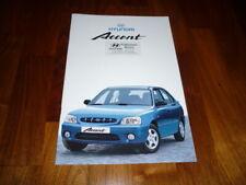 Hyundai Accent Prospekt 06/2001