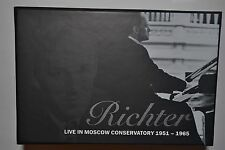 RICHTER LIVE IN MOSCOW CONSERVATORY 1951-1965 27CD BOX SET Limited Edition NEW!