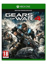 Gears Of War 4 XBOX ONE - MINT - Super FAST First Class Delivery Absolutely FREE