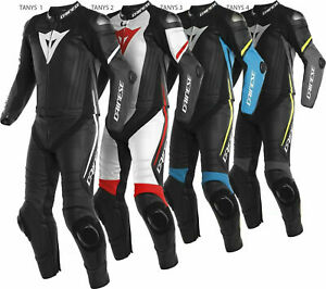Neuf Hommes Moto Combinaison Cuir Moto Veste Pantalon Racer Armour protection CE