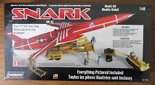 Lindberg Snark Intercontinental Guided Missile plastic rocket model Kit 1/48