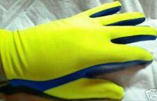 2 Pairs Scuba Diving Snorkeling Gloves Light weight Warm Water Yellow/Blue Gear