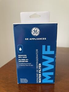 Genuine GE MWF Replacement Refrigerator Water Filter 300 Gallon Capacity SEALED