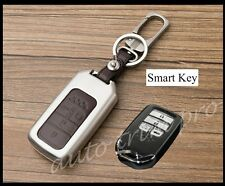 4 Buttons Smart Key Shell Box Holder Bag Case Fob Cover For Honda Civic Accord