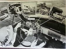 """12 By 18"""" Black & White PICTURE 1950 Chevrolet Power Glide example ad"""