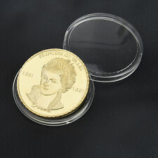 Gold Diana Princess Of Wales Commemorative Coin Collectible Hot Sell Nice