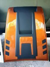 BONNET HOOD SCOOP COVER FLQ ORANGE FORD RANGER MK2 PX2 WILDTRAK XLT XL 2015 2017