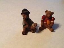 Football and Baseball Bears  Figurines Resin?